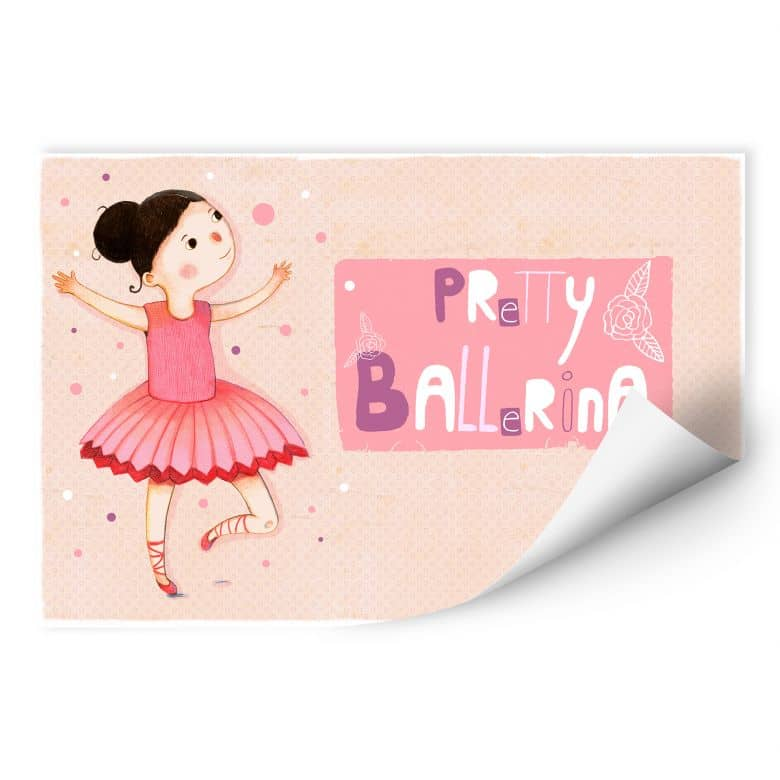 Wallprint Loske - Pretty Ballerina