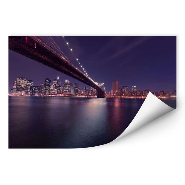 Wallprint Lights in New York City