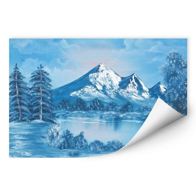 Wallprint Toetzke - Alpsee in den Bergen