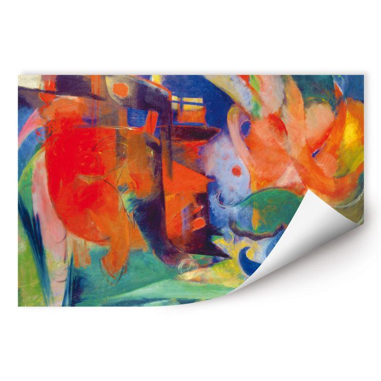 Wallprint Marc - Abstrakte Formen