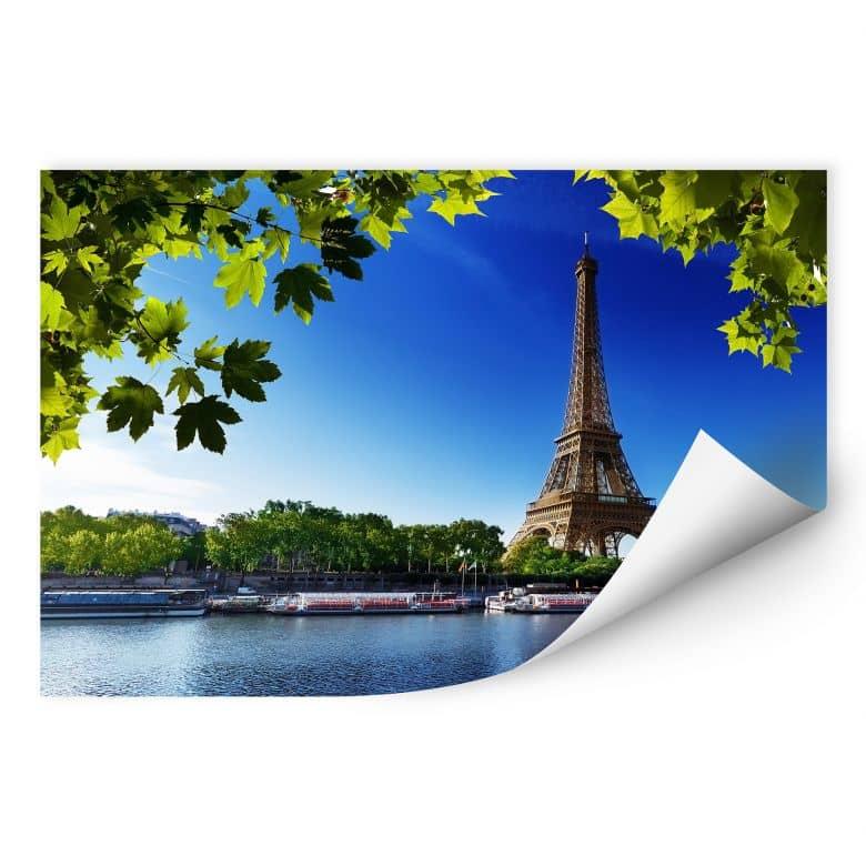 Wallprint Summer in Paris