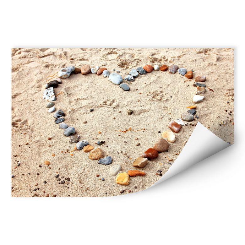 Wall print - Love Beach