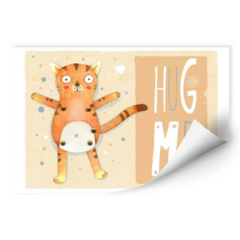 Wallprint Loske - Hug me