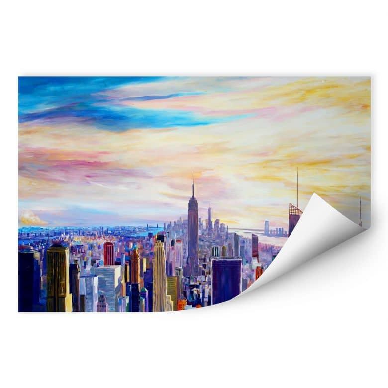 Wallprint Bleichner - Blick über New York City
