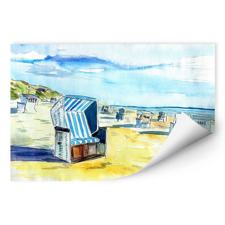 Wall print Bleichner - Beach of Sylt