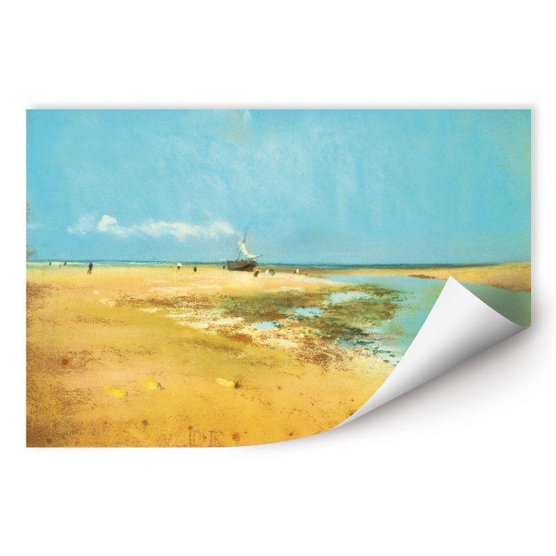 Wallprint Degas - Strand bei Ebbe