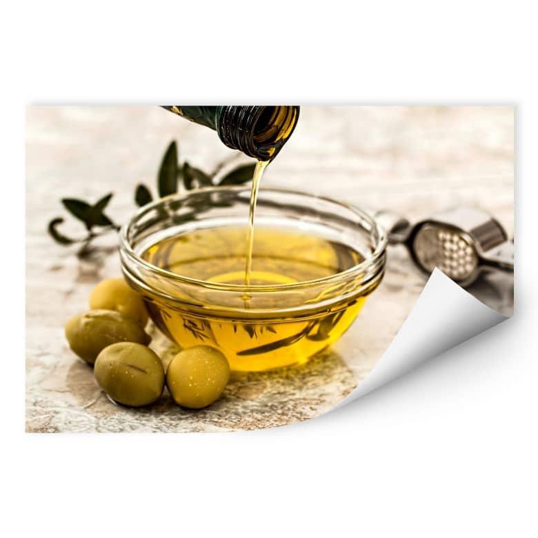 Wallprint Olivenöl