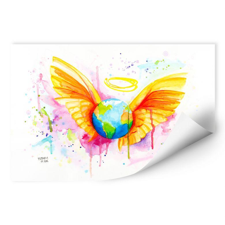 Wallprint Buttafly - Angel