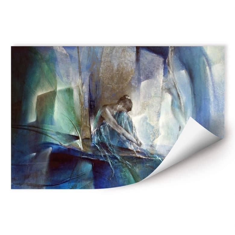 Wallprint Schmucker - Im blauen Raum