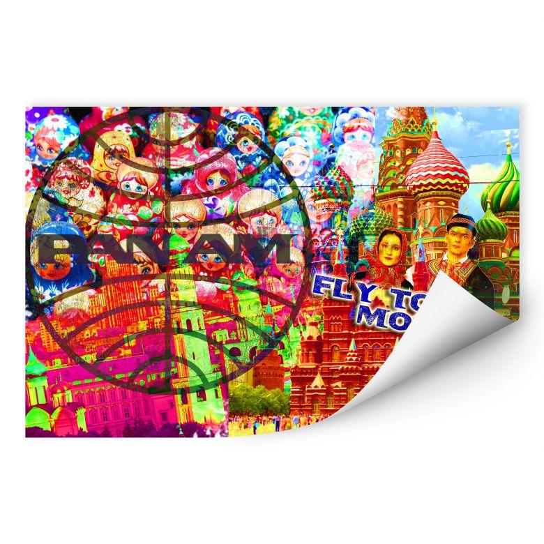 Wallprint PAN AM - Moskau