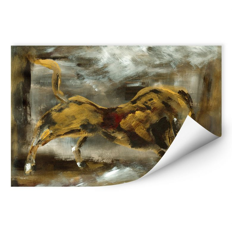 Wallprint Niksic - Der goldene Stier