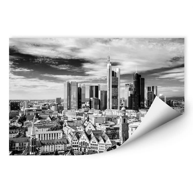 Wallprint W - Frankfurter Skyline