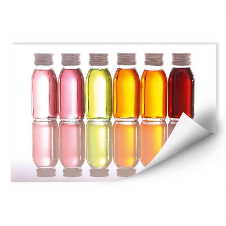 Wallprint W - Oil Bottles