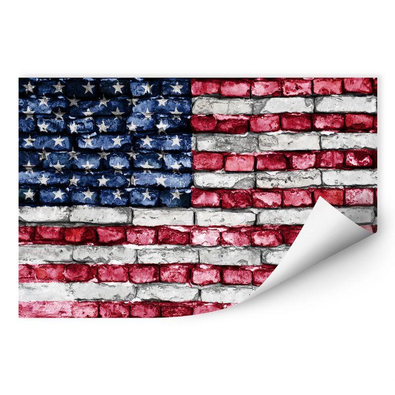 Wallprint W - Stars and Stripes