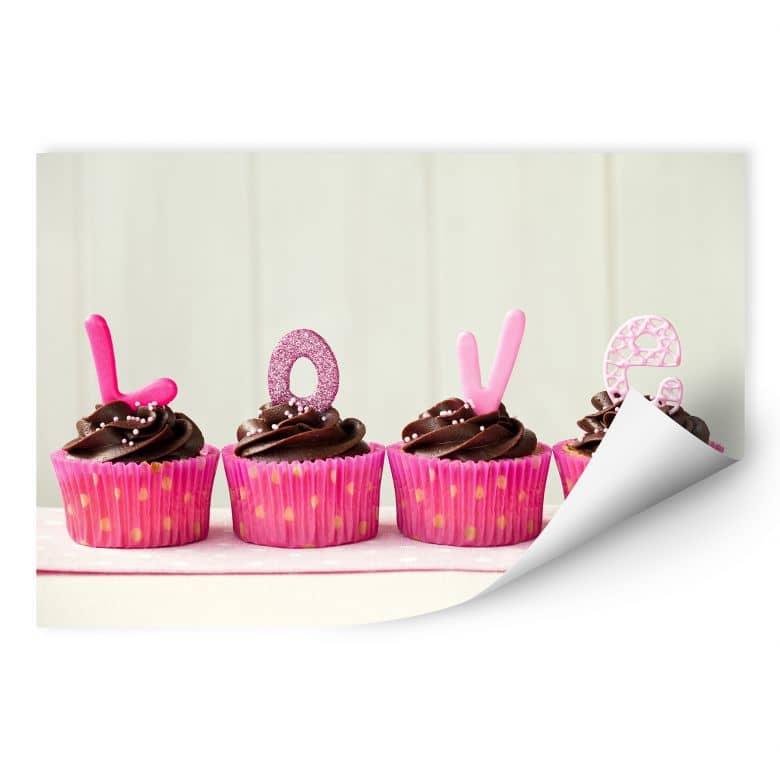Wallprint W - Lovely Cupcakes