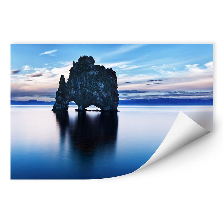 Wallprint W - Felsen im Meer