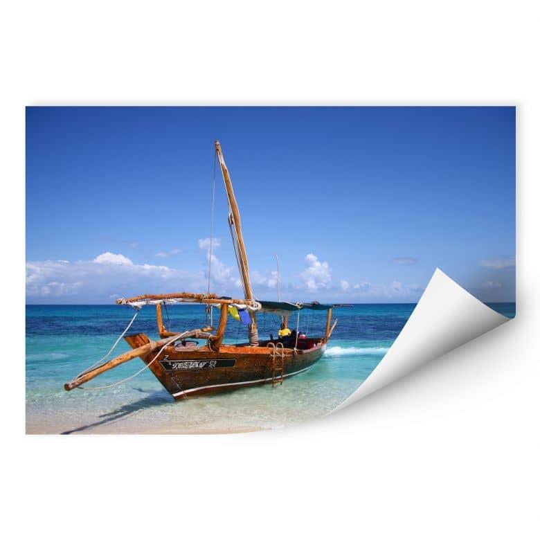Wallprint W - Caribbean Sailboat
