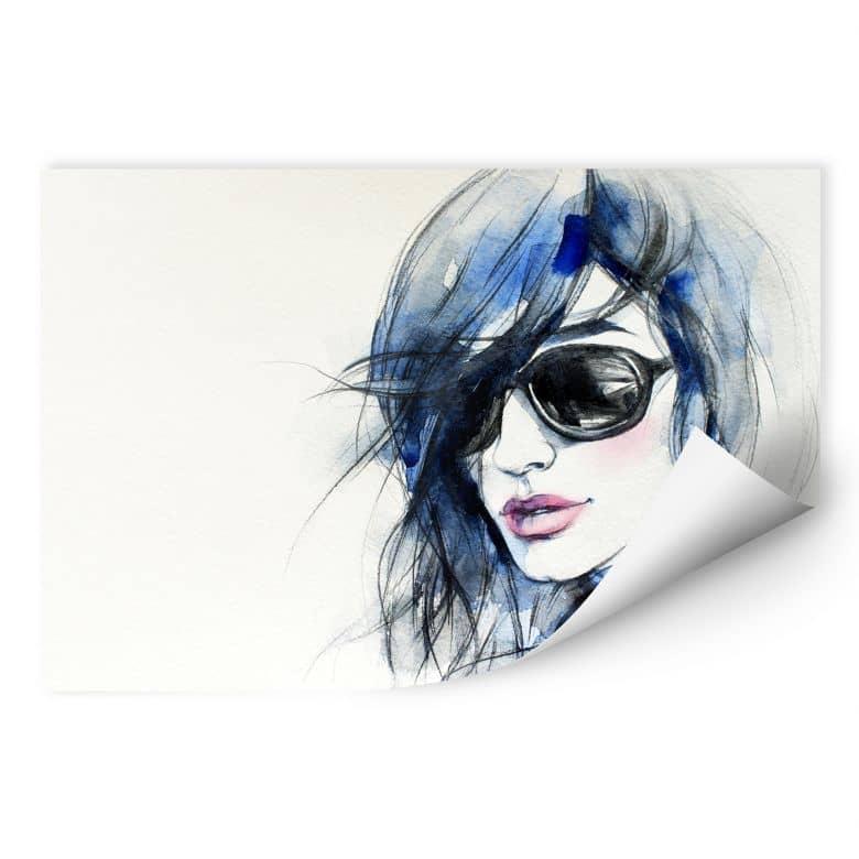 Wallprint W - I wear my sunglasses