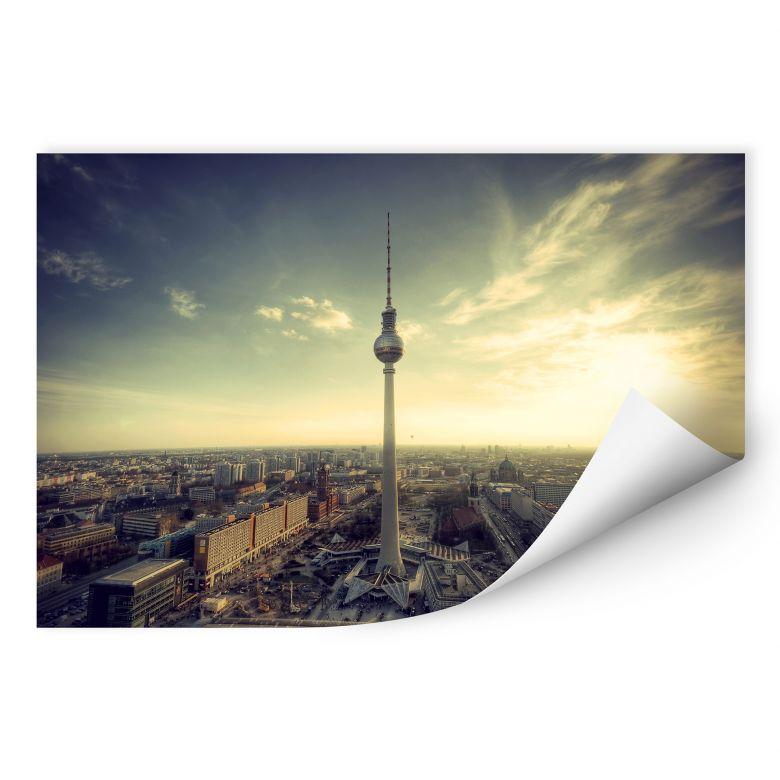 Wallprint W - Berliner Fernsehturm Panorama