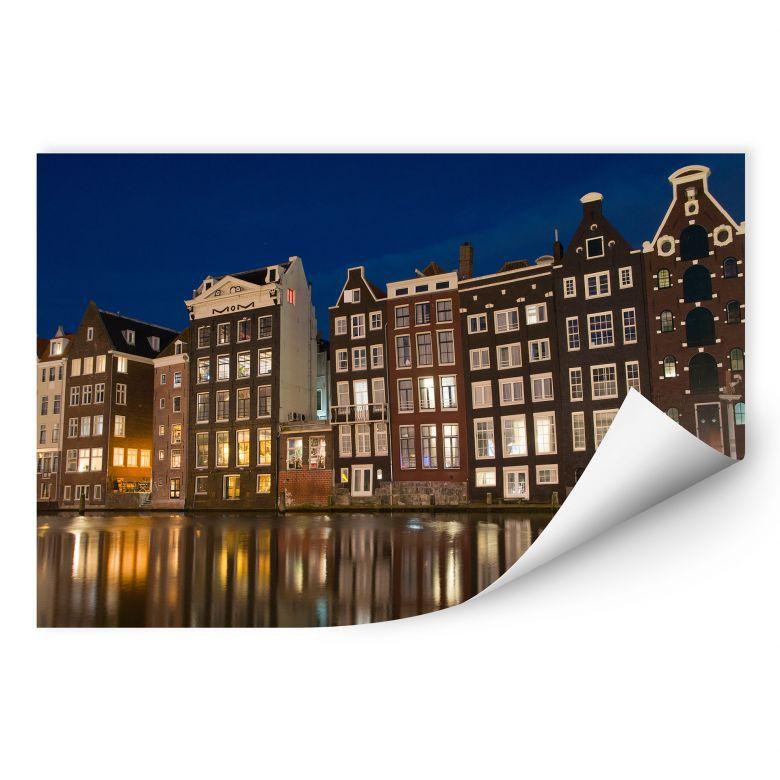 Wallprint W - Amsterdam am Kanal