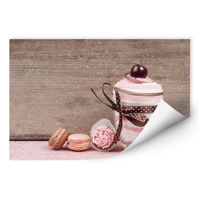 Wallprint W - Sweet Dessert