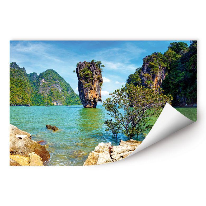 Wallprint W - Khao Ta-Pu Island