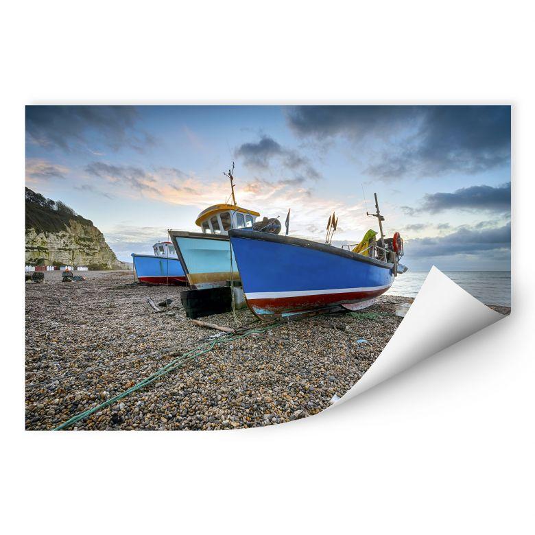 Wallprint W - Fischereiboote