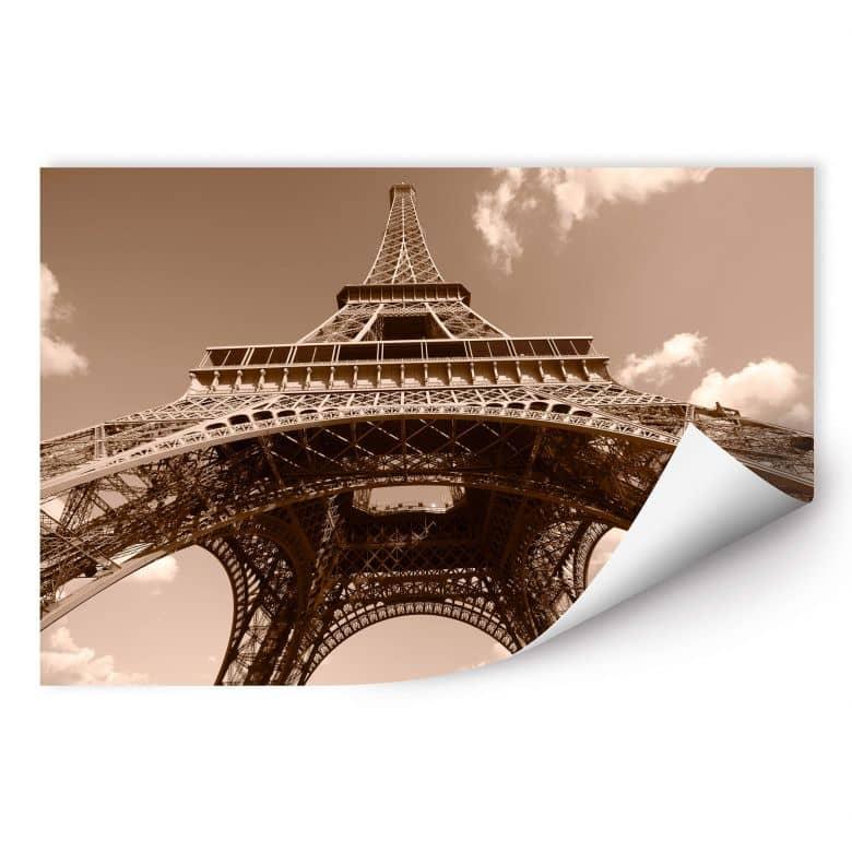 Wallprint W - Eiffelturm Perspektive