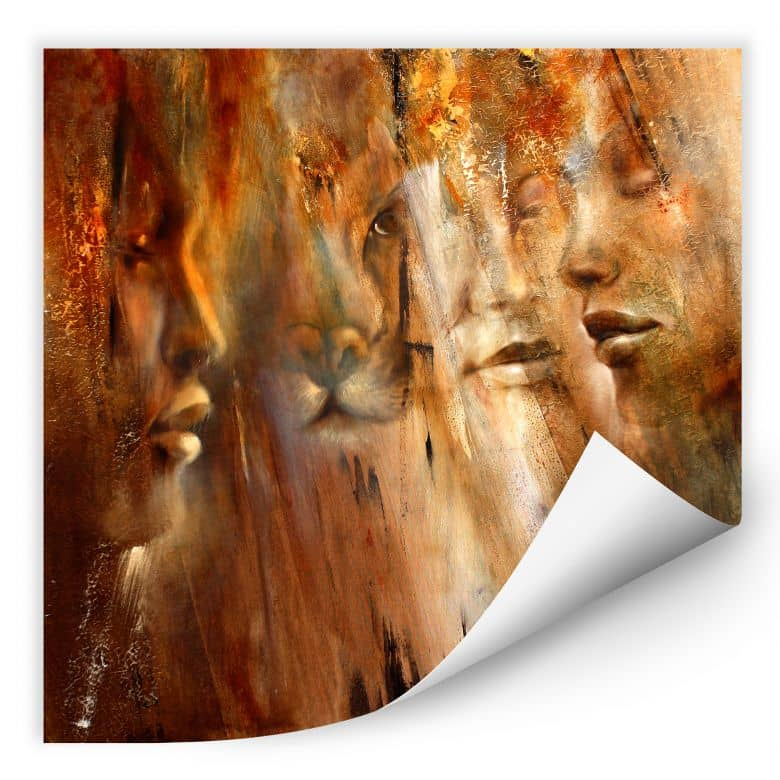 Wallprint - Schmucker - Faces