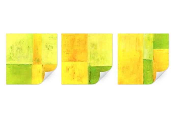 Wallprint W - Schüßler - Spring Composition (3-teilig)