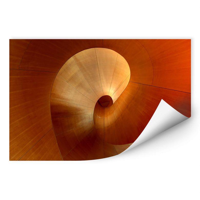 Wallprint Shainidze - The Curve