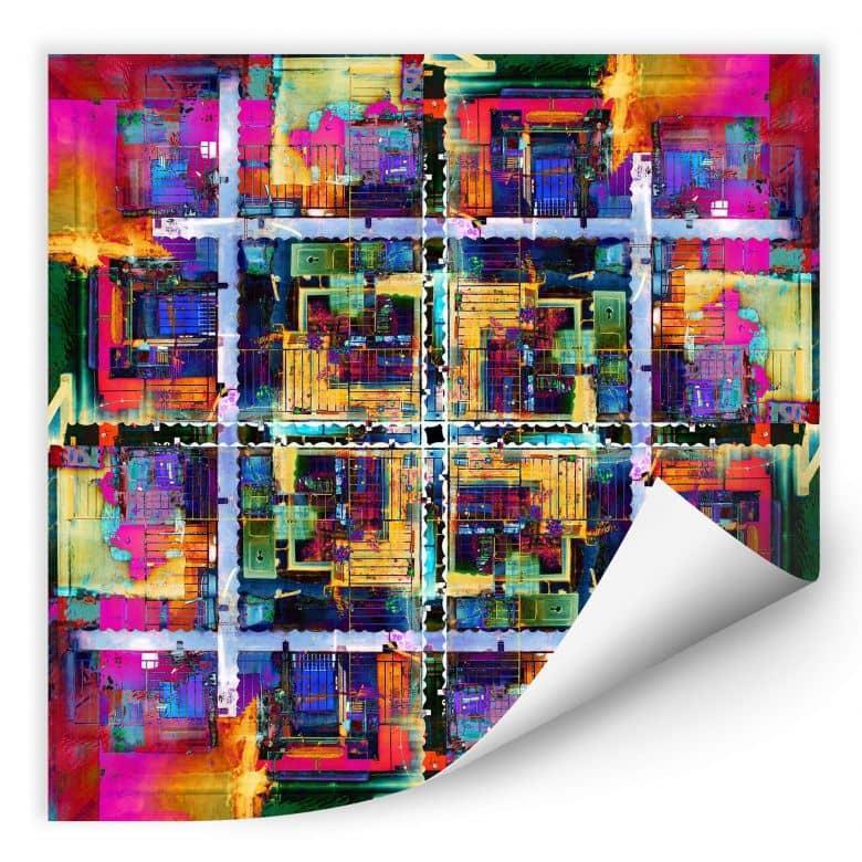 Wallprint Shrayer - Annecy 8
