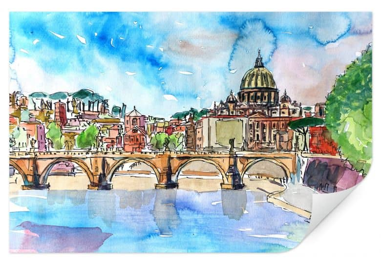 Wallprint Bleichner - Vatican in Rome
