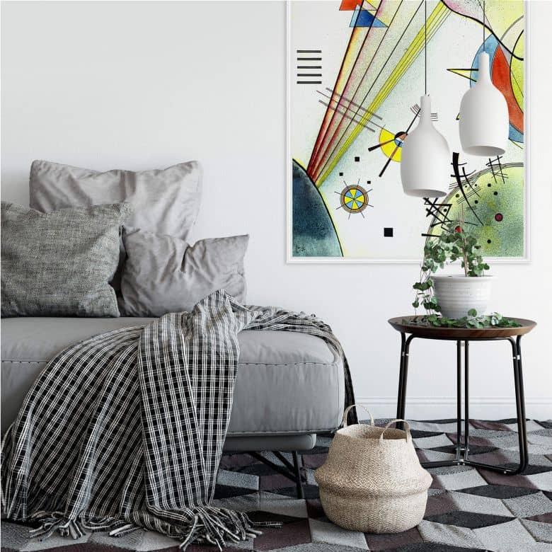 Wall Print Kandinsky - Clear Connection