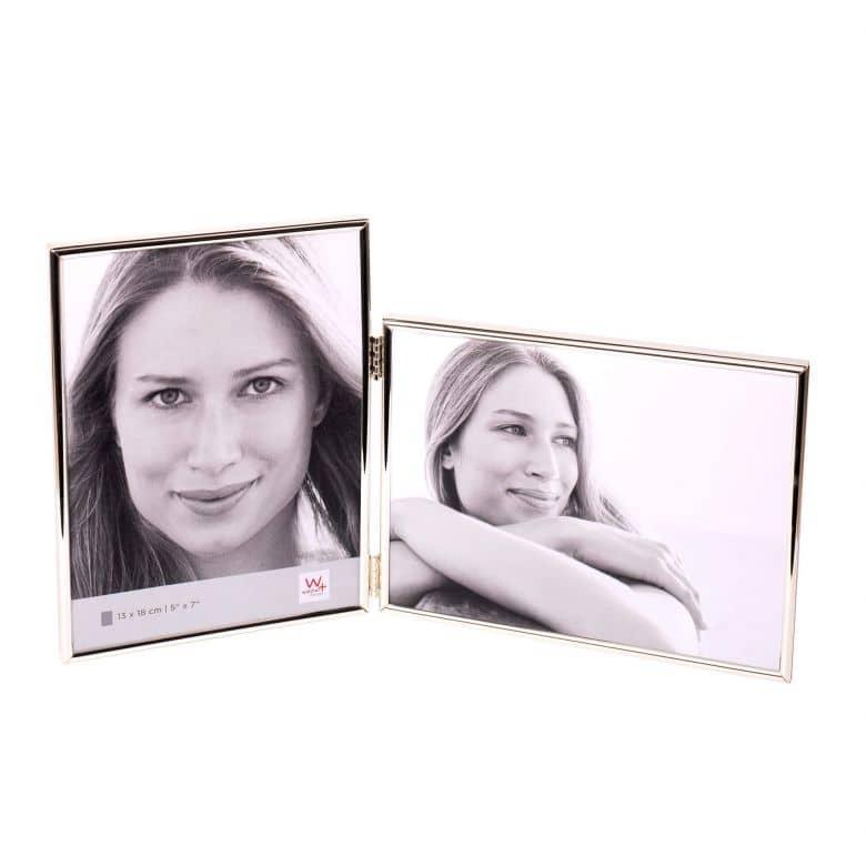 Chloe Portraitrahmen - 2 x 10x15 cm silber