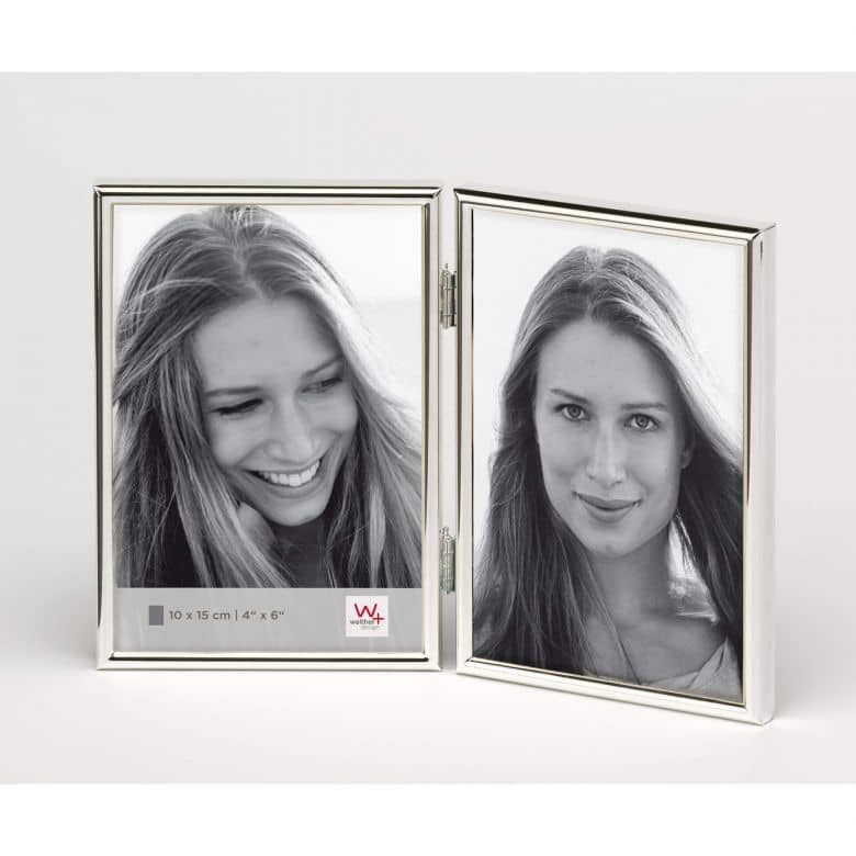 Fotolijstjes Chloe - 2x 10x15 cm