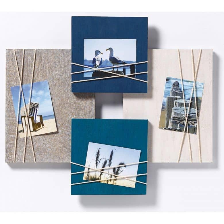 Fotolijstje La Casa voor 4 foto's