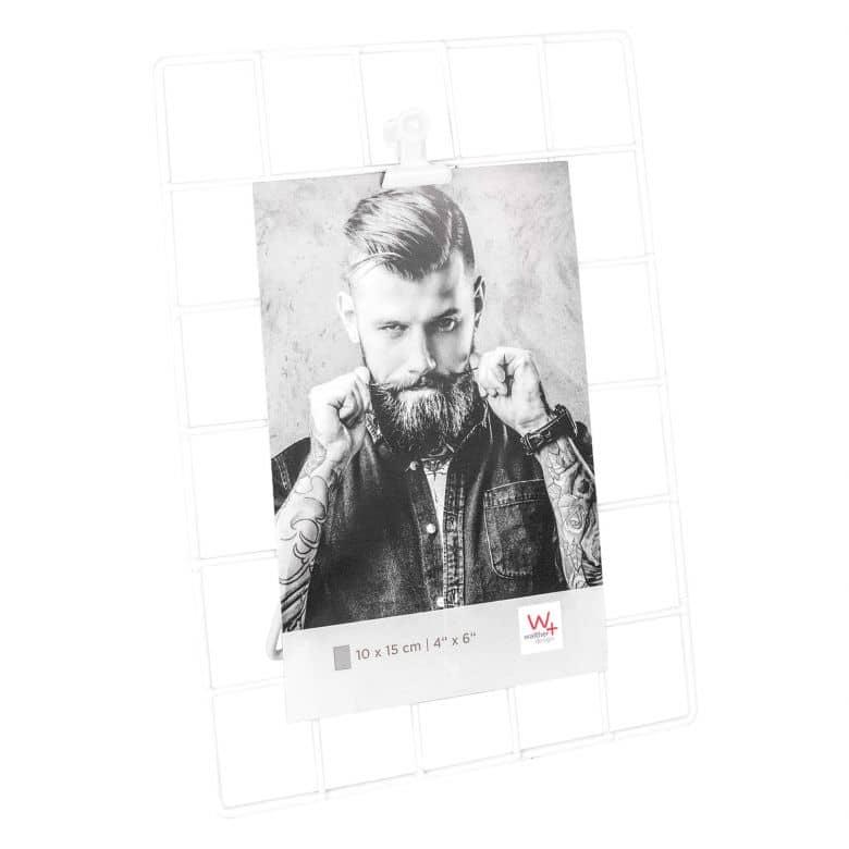 Raster Fotolijst met Clip - 13x18 cm