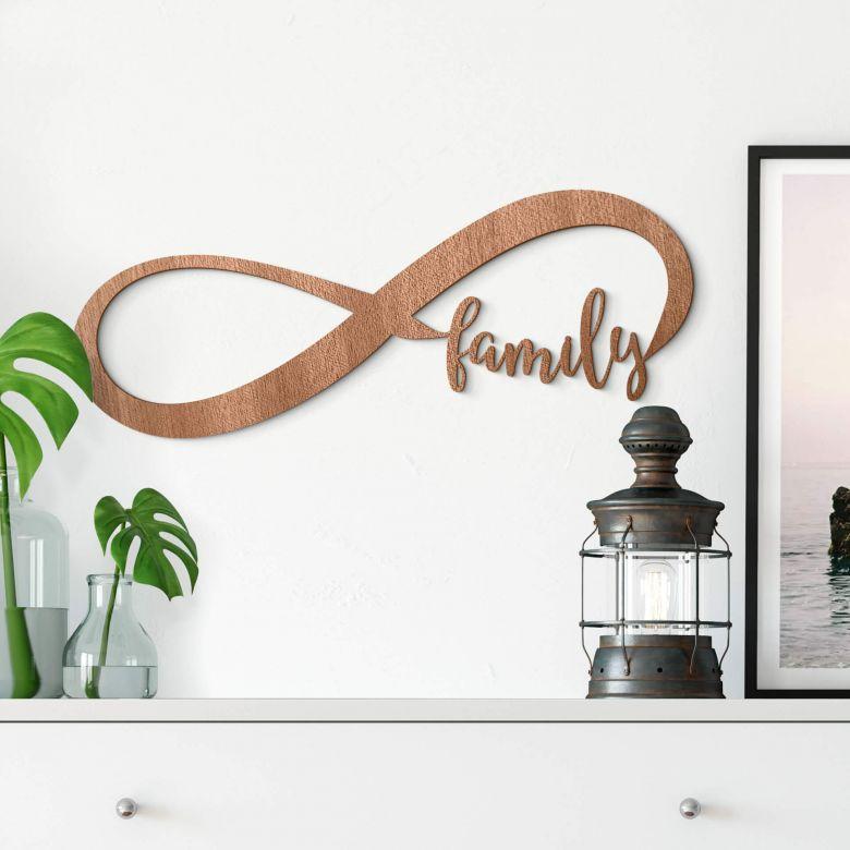 Decorazioni in mogano - Famiglia per sempre