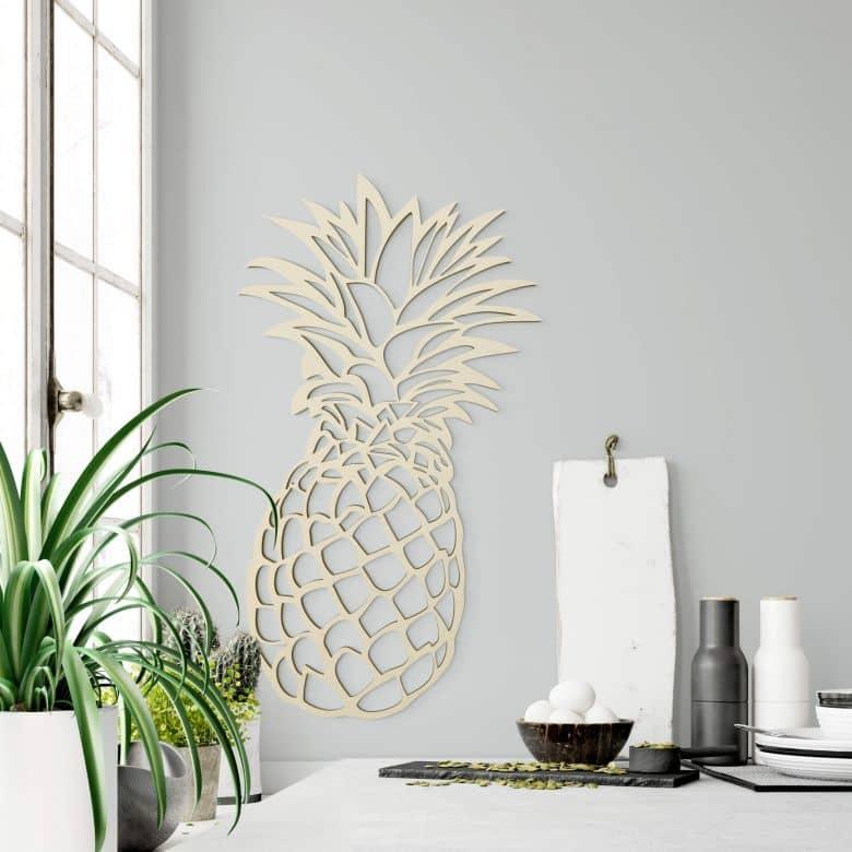 Pineapple – poplar wood