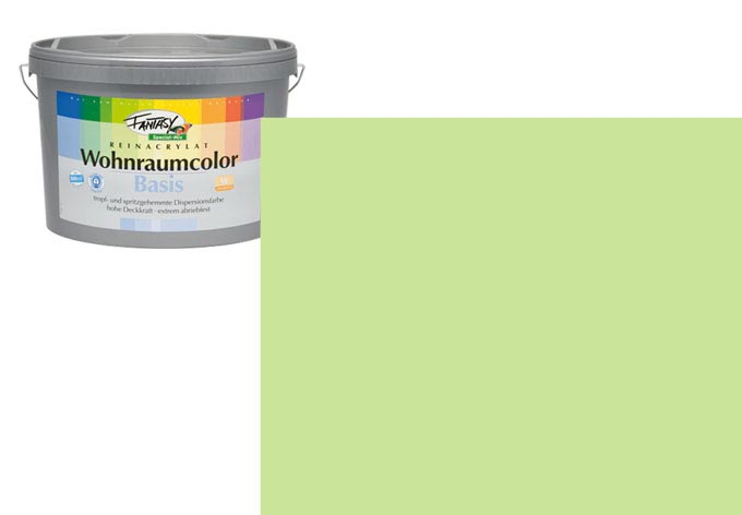 Wandfarbe FANTASY Wohnraumcolor Donegal 3B matt/seidenglänzend