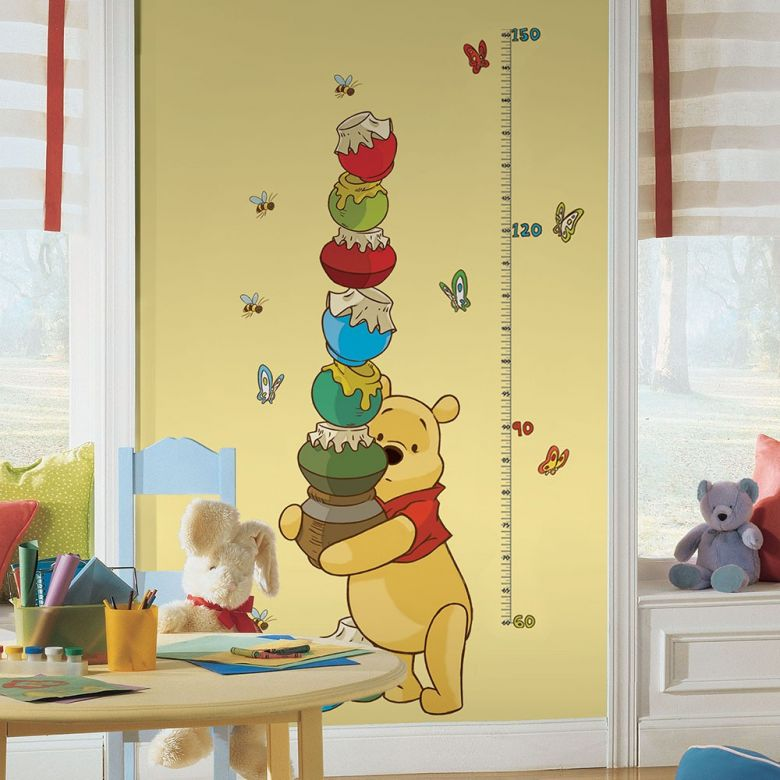 Disney Winnie Puuh Messlatte als Wandsticker | wall-art.de