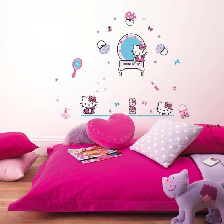 Wandsticker-Set Hello Kitty 50-teilig