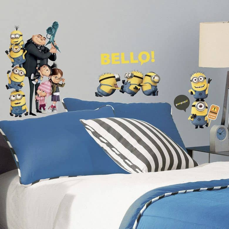 Muursticker set Minions