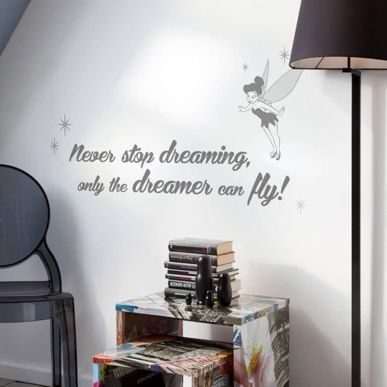 Adesivo - Mai smettere di sognare