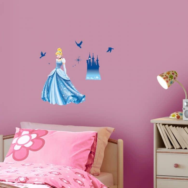 Adesivo murale  Disney Sogno di principessa