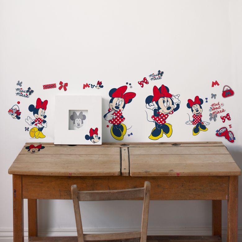 Wandsticker Minnie Mouse 52-teilig   wall-art.de