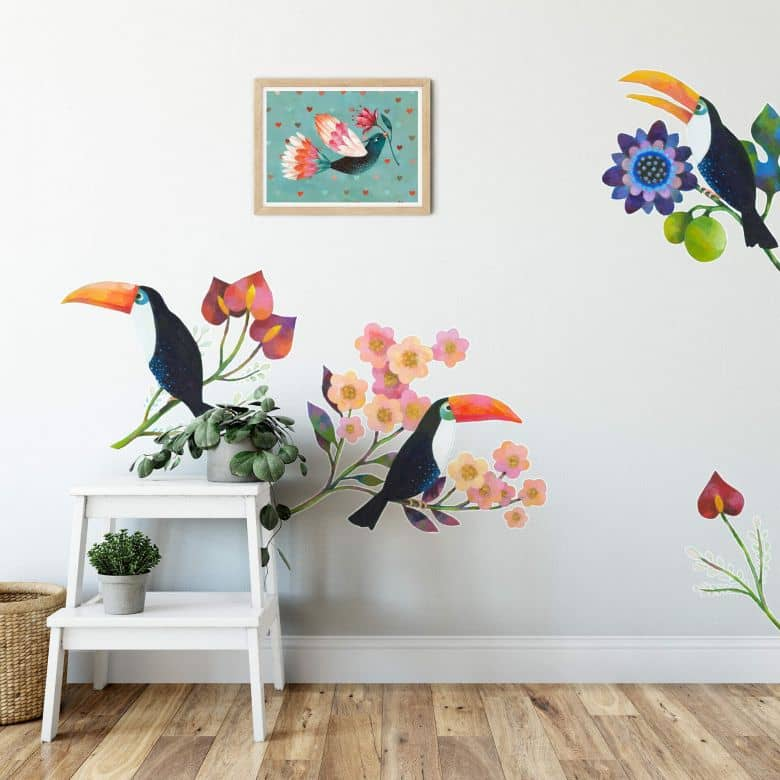 Wall Sticker Blanz - Toucan Set