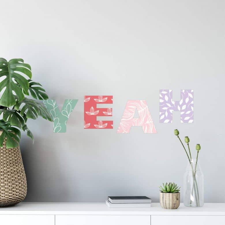 Wall sticker Alphabet - per character