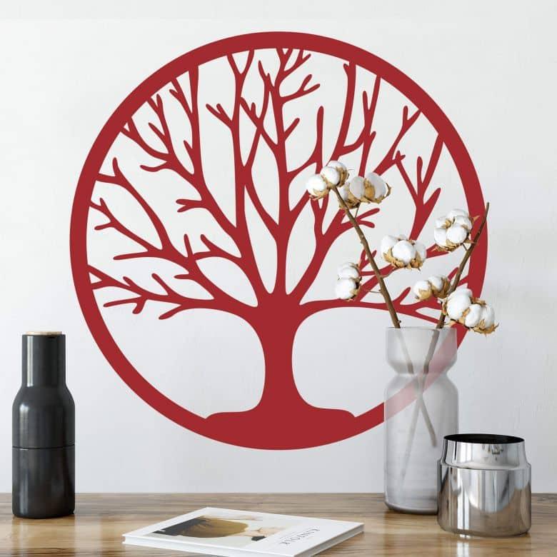 wandtattoo der baum des lebens wall. Black Bedroom Furniture Sets. Home Design Ideas